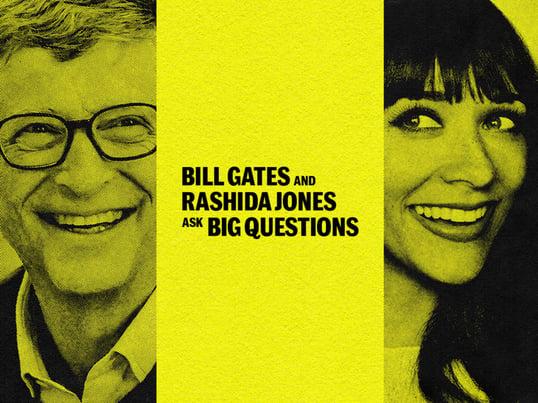 Bill Gates Podcast promo image