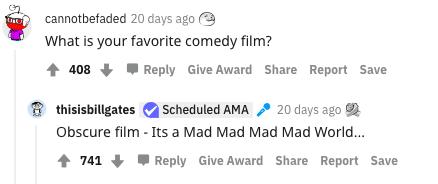 Bill Gates AMA Reddit