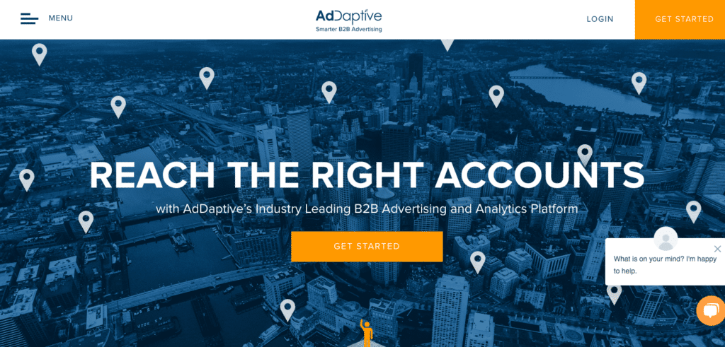 Screenshot of AdDaptive