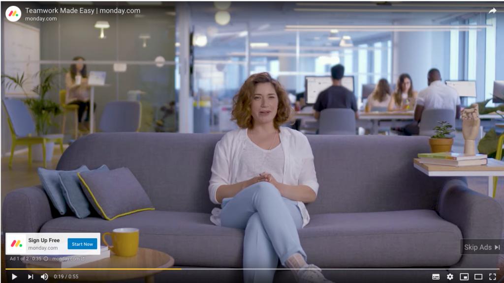 b2b SaaS video marketing example