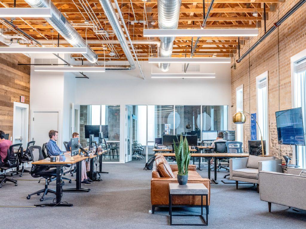 digital marketing agency interior